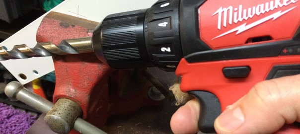 Drill and Vise for dad tasks
